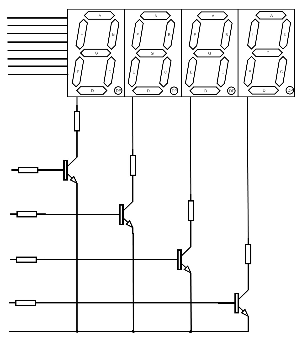 Wrg 7 Segment Circuit Diagram