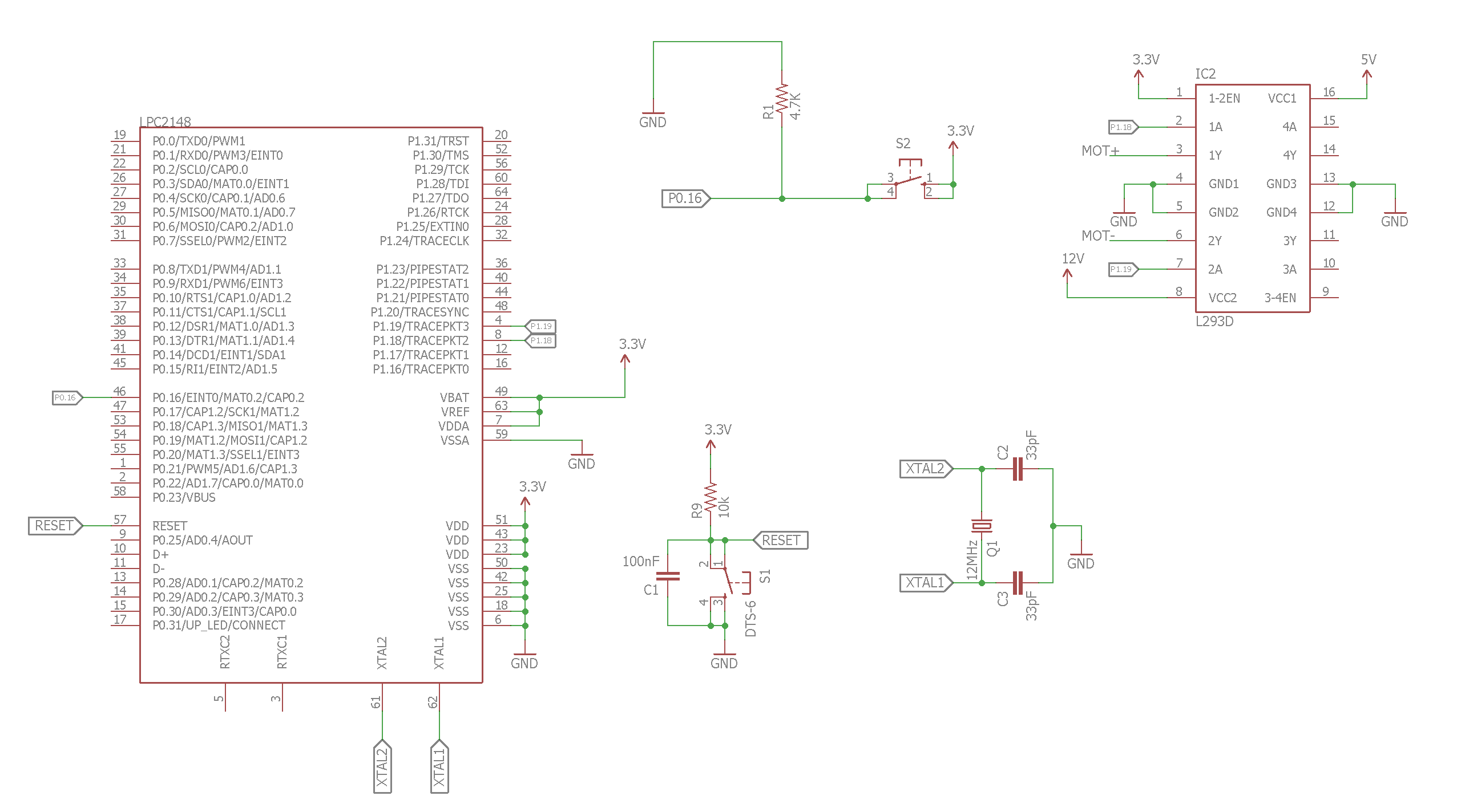 Dc Motor Control Using Arm7 Lpc