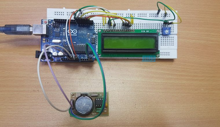 Arduino Real Time Clock DS1307 Tutorial Image 1