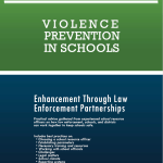 Cover: violence prevention in schools (image)