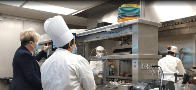 Student Chefs Use Culinary Skills to Help Community