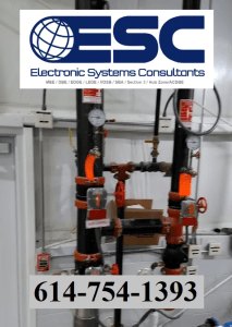 ESC Automatic Fire Sprinkler Systems (image)