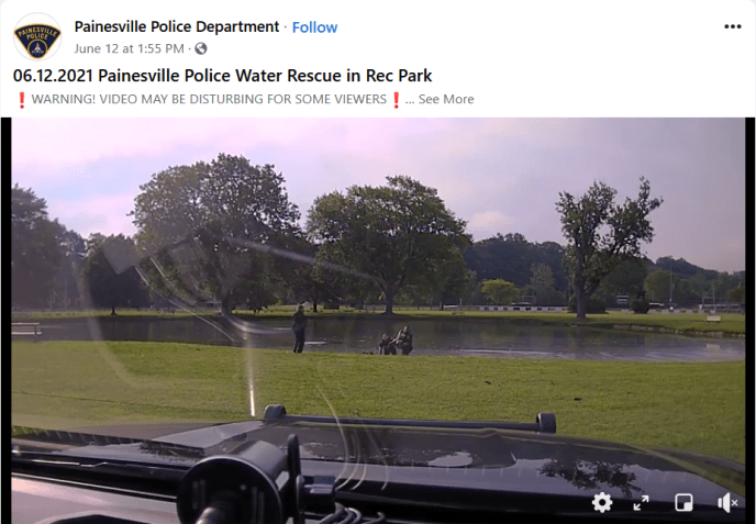 Ohio police officers save a 4-year-old boy who was found not breathing in a park pond (image)
