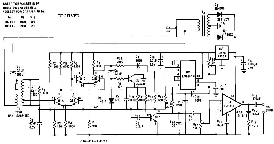 FM wireless speaker receiver schematic pioneer deh p6600 wiring diagram dolgular com pioneer ts-s20 wiring diagram at reclaimingppi.co
