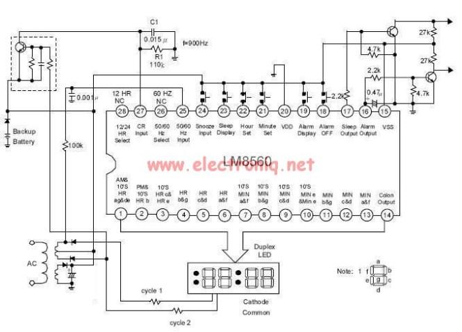 Digital Clock Alarm Based On The Lm8560