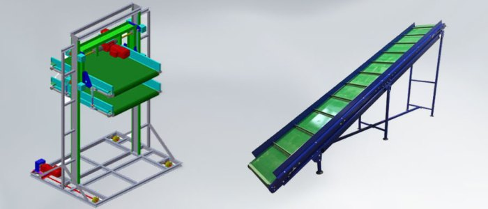 Shuttle lift for laundry textile