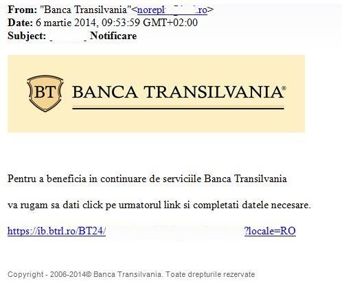 phishing BT