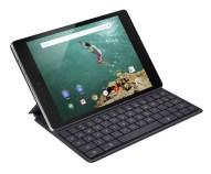 Nexus 9-Angle-Black-Keybord Folio-mic