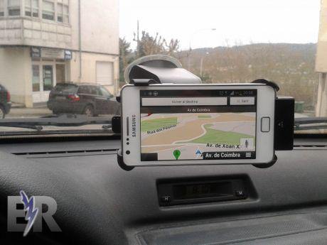 Soporte de coche en Navigation
