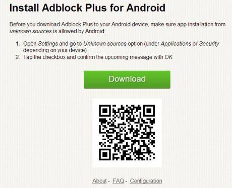 AdBlock Plus para Android