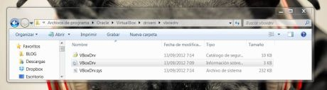 Arreglar Virtualbox