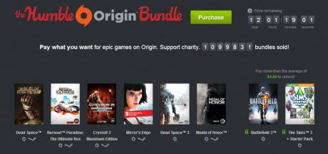 EA Humble Bundle