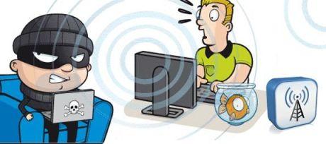 El vecino que roba el WiFi