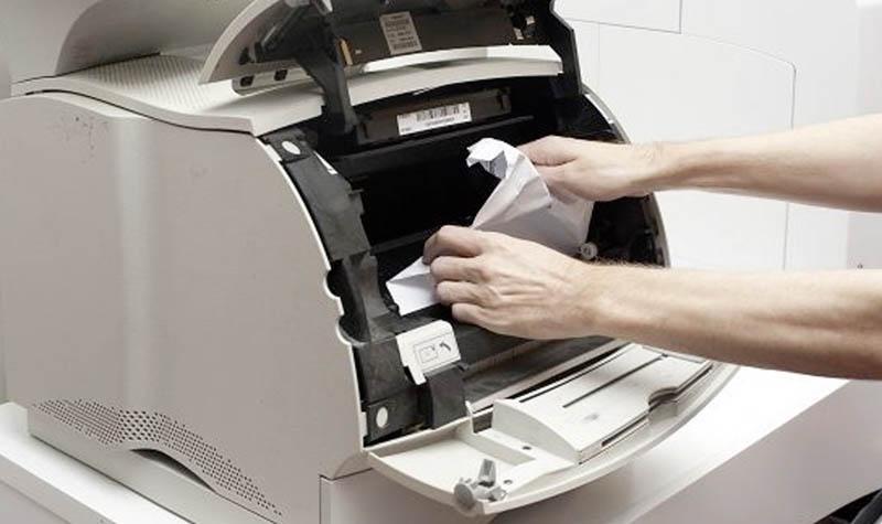 Impresora atascada
