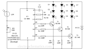Aquarium Led Lighting Circuit