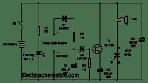 Antitheft Car Alarm Circuit