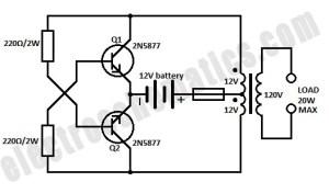 DC to AC Inverter  12V to 110V120V Inverter