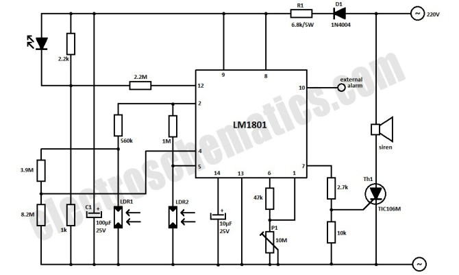 flame detector photocell wiring diagram  schematic wiring