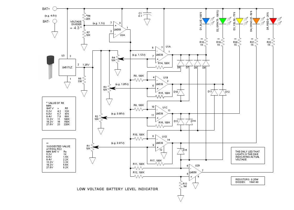 36v Battery Indicator Wiring Diagram