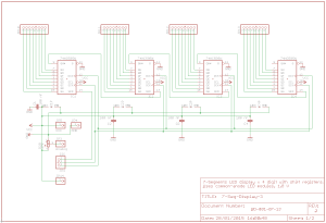 Arduino Daisy Chain Shift Register with 74HC595  Part 1