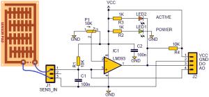 DIY Steam Sensor Circuit For Microcontroller