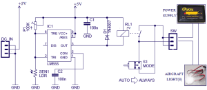 Smart Switch for Model Aircraft Lights