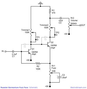 ElectroSmash  You can Build the Perfect Germanium Fuzz Face