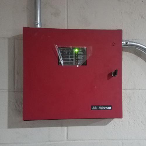 Central de detección de incendios