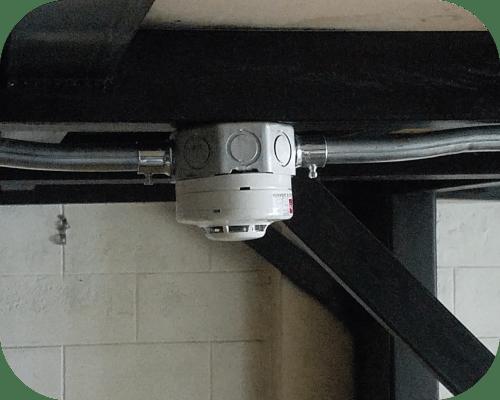 Instalación de detector de humo