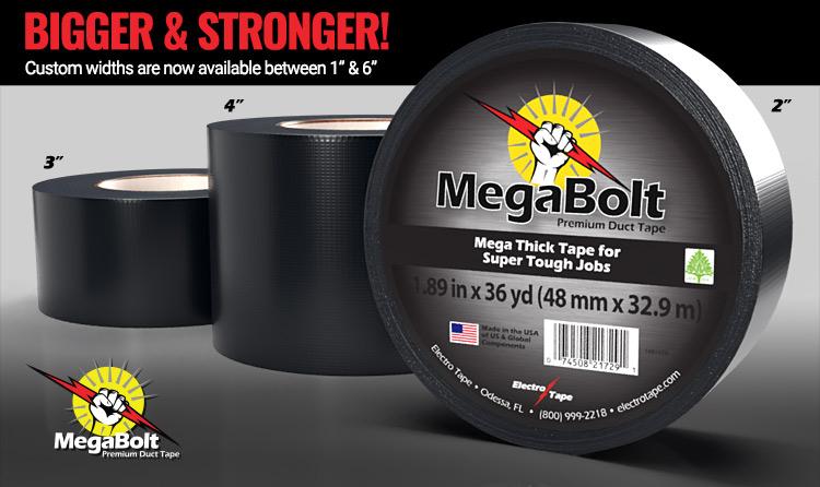 MegaBolt 16 mil Duct Tape Bulk Wholesale