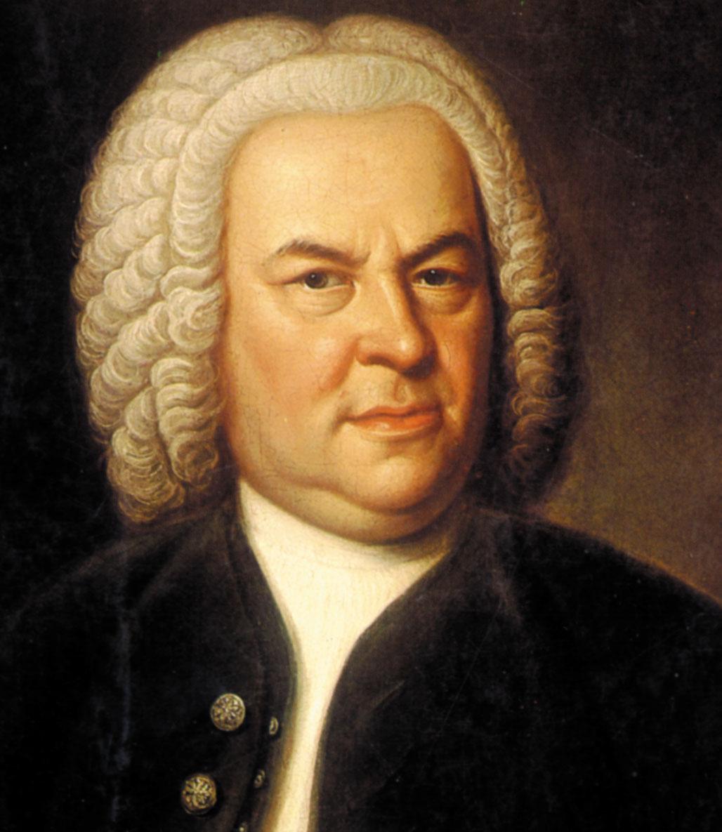 Portrait of J. S. Bach, circa 1745 (Image in public domain)