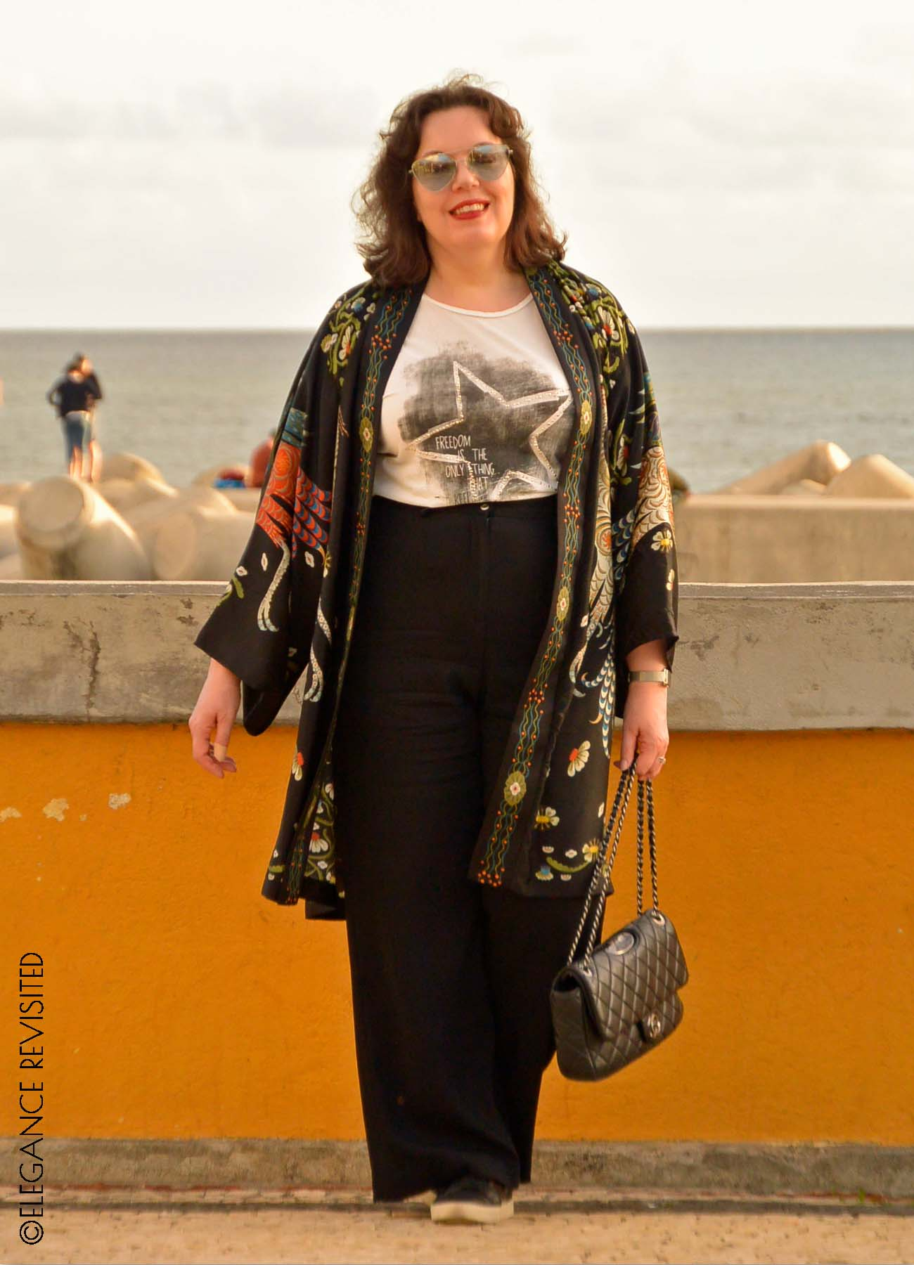 how to wear a kimono over 40