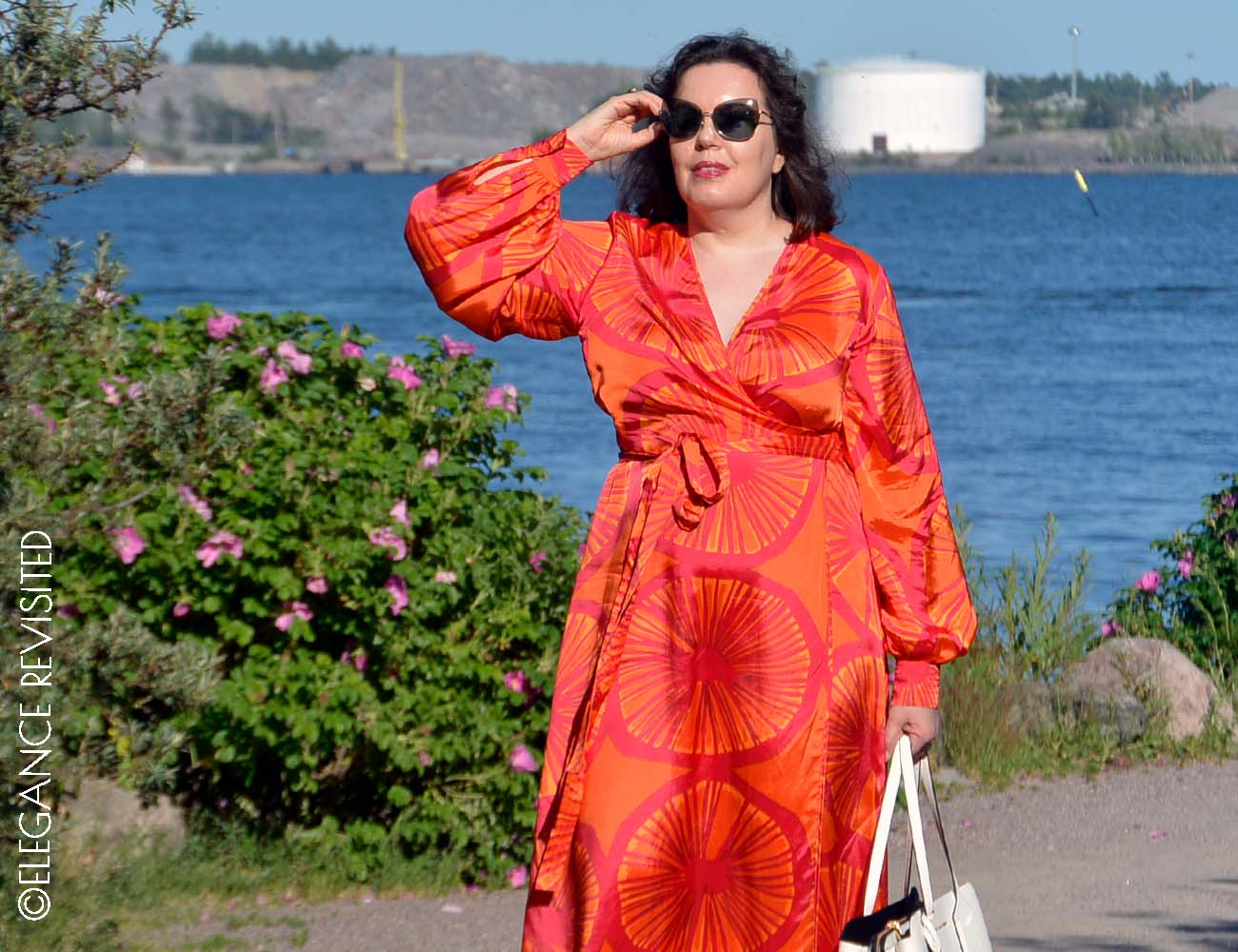 how to wear bright colour over 40