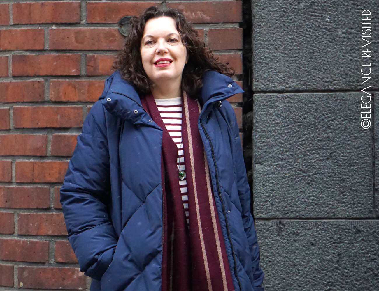 how to wear. parka over 50