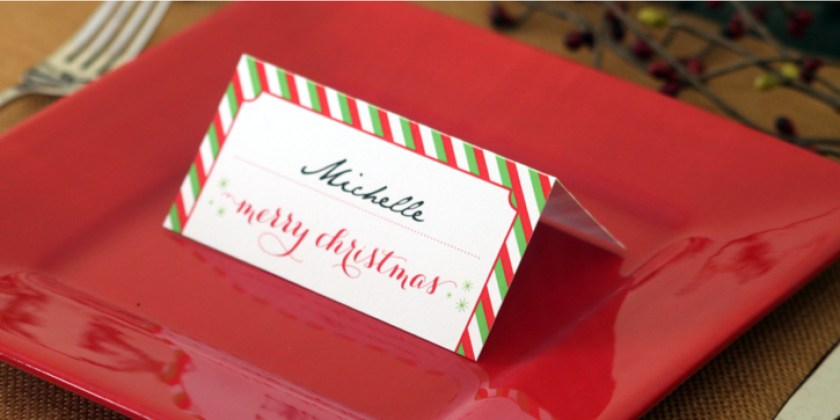 Free Printable Christmas Place Cards Via Valentine Placecards Printables Dinner Template