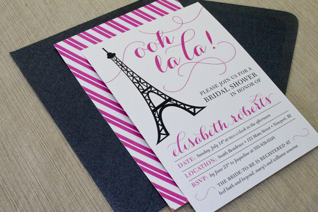 Burlap Lace Bridal Shower Invitation C Invitations