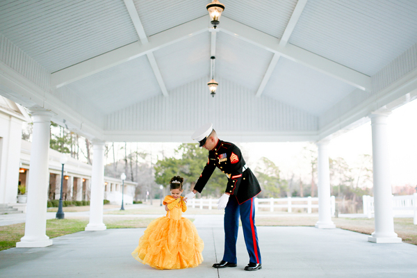 Daddy Daughter Marine Corps Dance