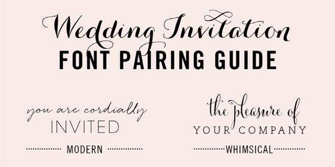 Customized Romantic Copperplate Script On Formal Custom Letterpress Wedding Invitation