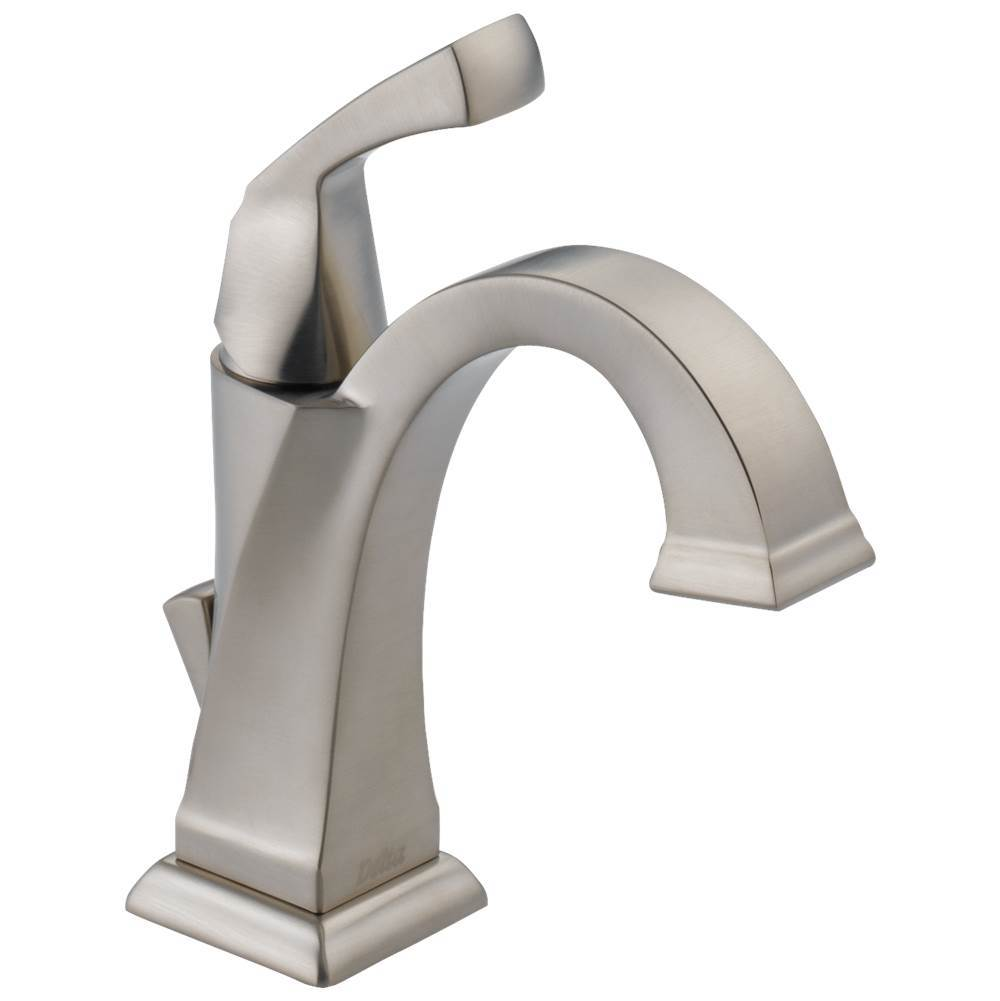 dryden single handle bathroom faucet