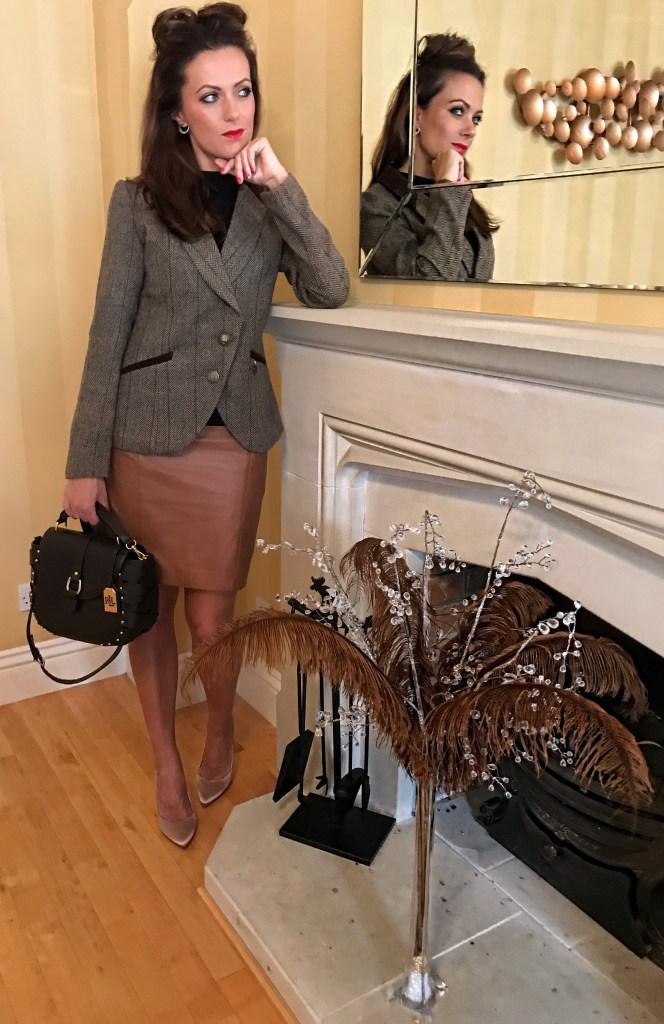 BRITISH HERITAGE | TWEED JACKET | brown hue | how to wear tweed | how to care for tweed | history of tweed