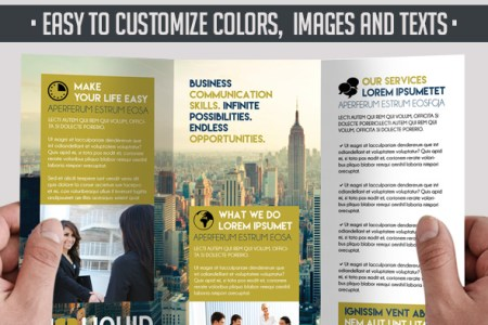 5 Powerful Free Adobe InDesign Brochures templates    by ElegantFlyer 5 Powerful Free Adobe InDesign Brochures templates