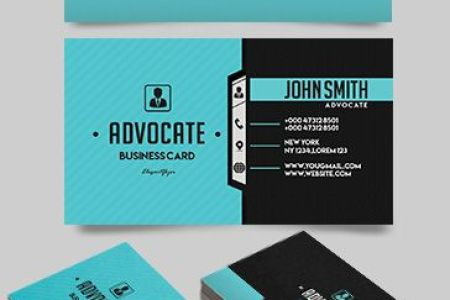 Free Business Cards Templates for Photoshop   by ElegantFlyer Advocate     Free Business Card Templates PSD
