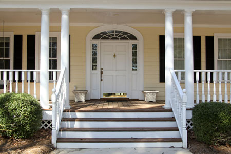 Covered Porch Plans   Architectural Styles from Elegant House Plans Covered Porch House Plans   Styles   Home Plans By Elegant House Plans