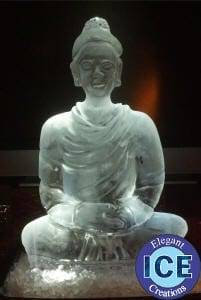 Skinny Buddha Ice Sculpture