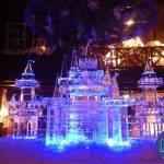 castle ice schulpture