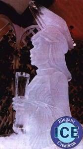 graduate ice sculpture