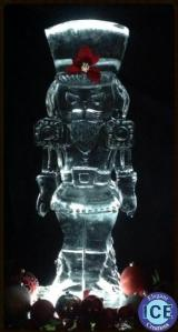 nutcracker ice sculpture toy soldier