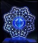 Logo in snowflake 2 blocks