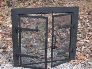 fire screen for indoor fireplace