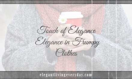 Elegance in Frumpy Clothes